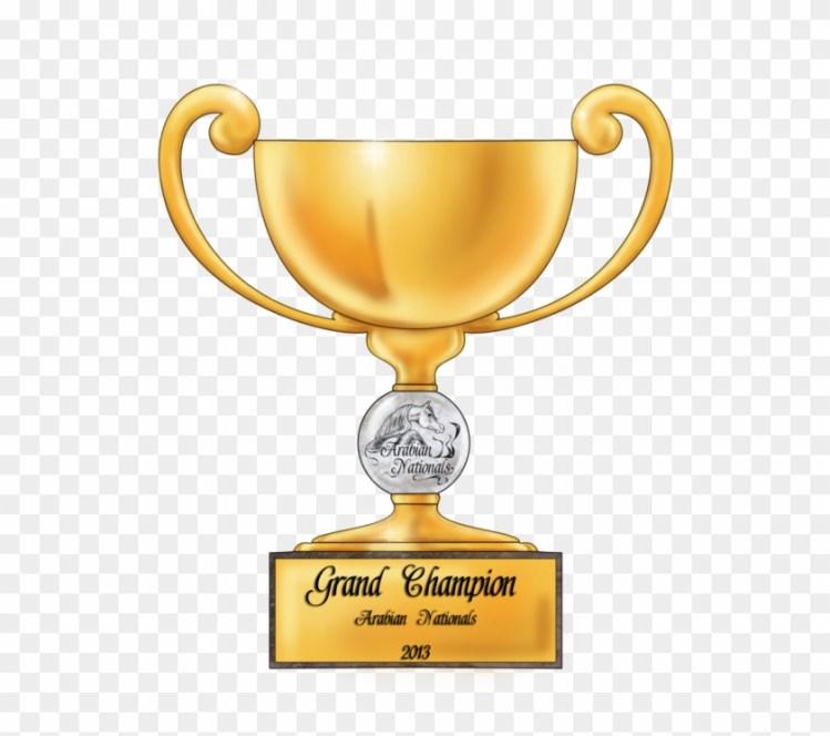 Trophy Clipart Grand Champion - Grand Champion Champion ...
