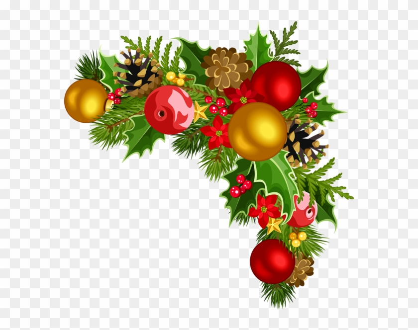Christmas Corner Decorations Png Download Christmas Decor Png Corner Transparent Png 585x584 154910 Pngfind