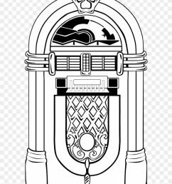 jukebox clipart jukebox black and white hd png download [ 840 x 1071 Pixel ]