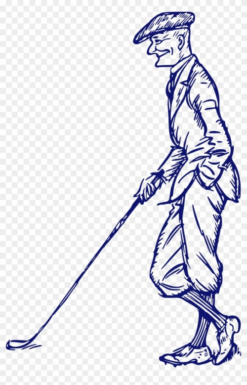 small resolution of golf clipart old man golf hd png download