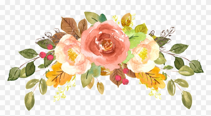 watercolor flowers vector pictures