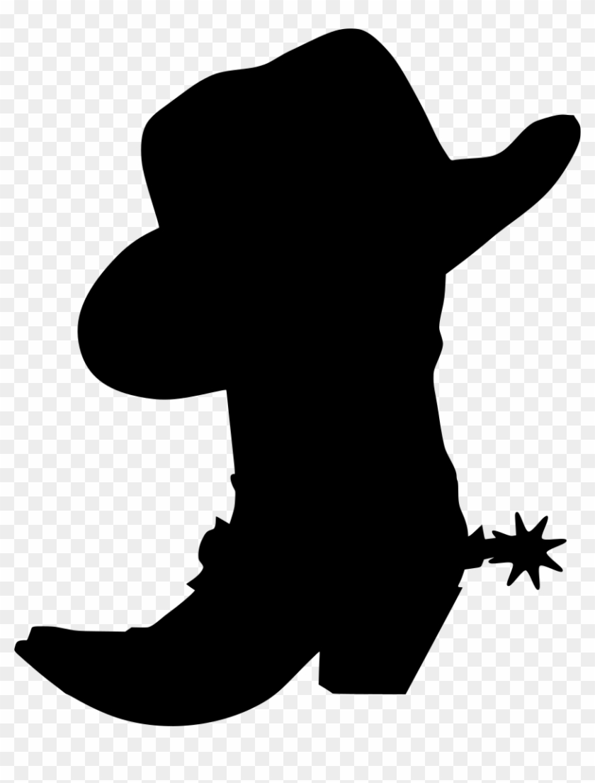 hight resolution of download png cowboy boot and hat clip art transparent png