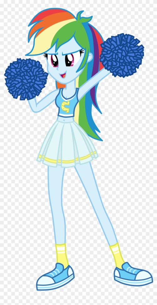 small resolution of 100 free cheerleader clipart images download 2018 equestria girls cheerleader rainbow dash