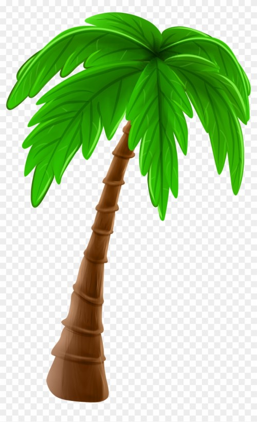 small resolution of palm tree cartoon png clip art image coconut tree art png transparent png