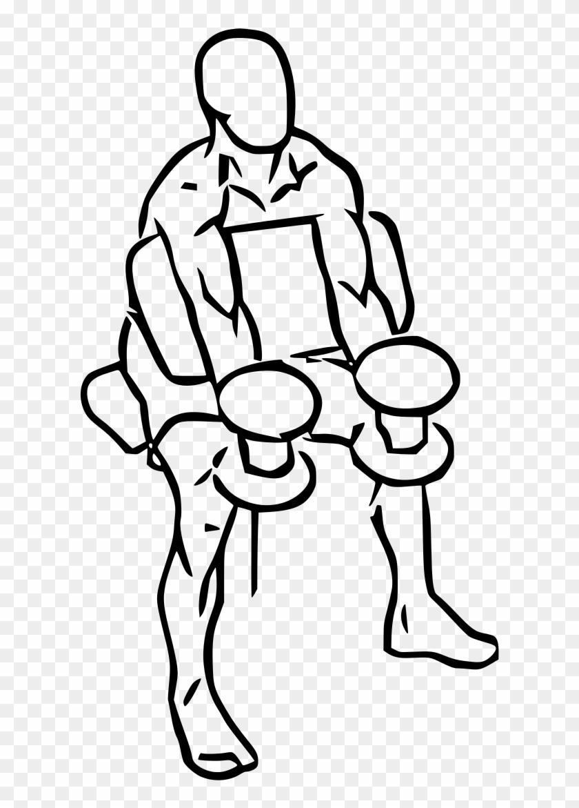medium resolution of preacher hammer curl with dumbbell preacher curl clip art hd png download
