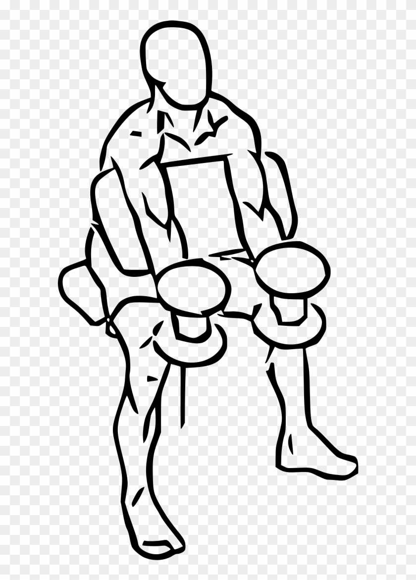 hight resolution of preacher hammer curl with dumbbell preacher curl clip art hd png download