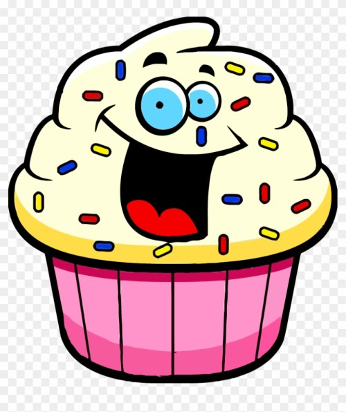 small resolution of cartoon cupcake clipart cartoon pictures of desserts hd png download