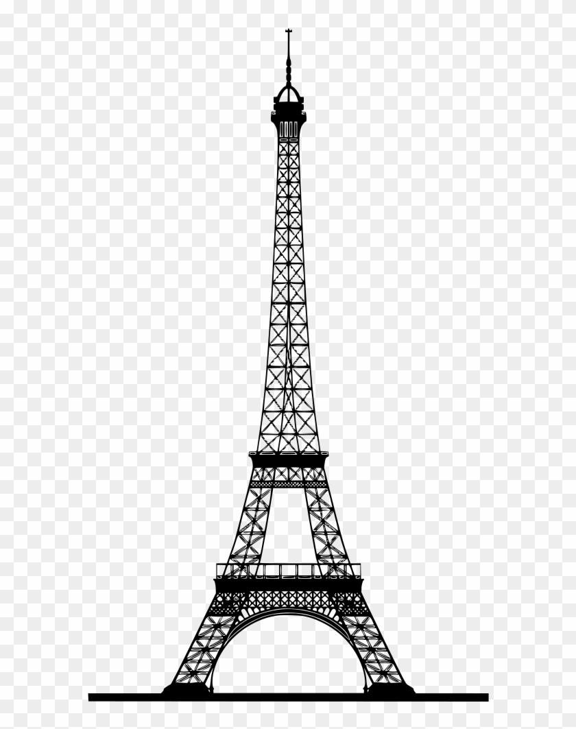 drawing fancy eiffel tower