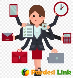 indian clipart business woman hd png download [ 840 x 940 Pixel ]