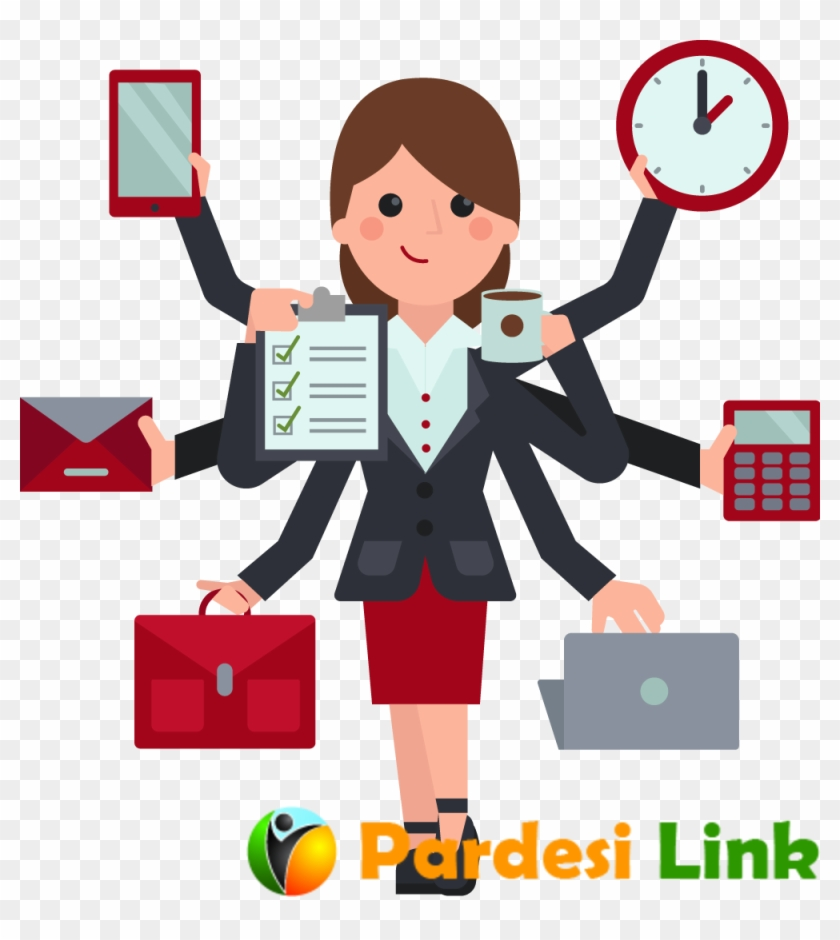 hight resolution of indian clipart business woman hd png download