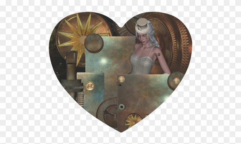 steampunk rusty metal and