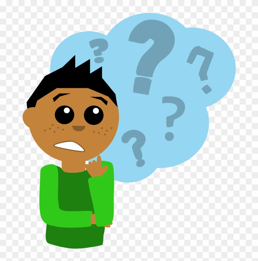 confused question clipart png