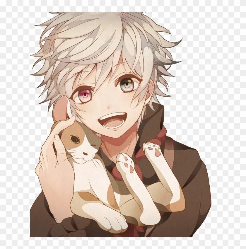 anime boy smile cute