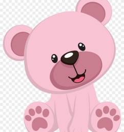 pink teddy bear clipart hd png download [ 840 x 1058 Pixel ]