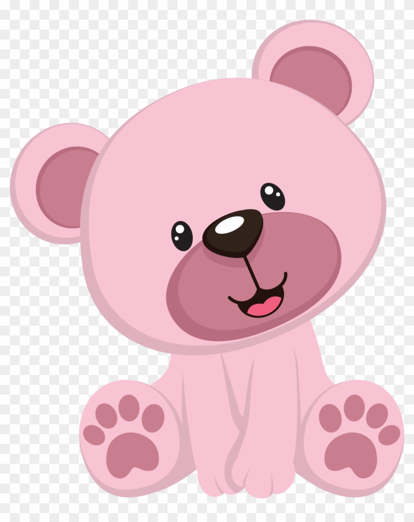 hight resolution of pink teddy bear clipart hd png download