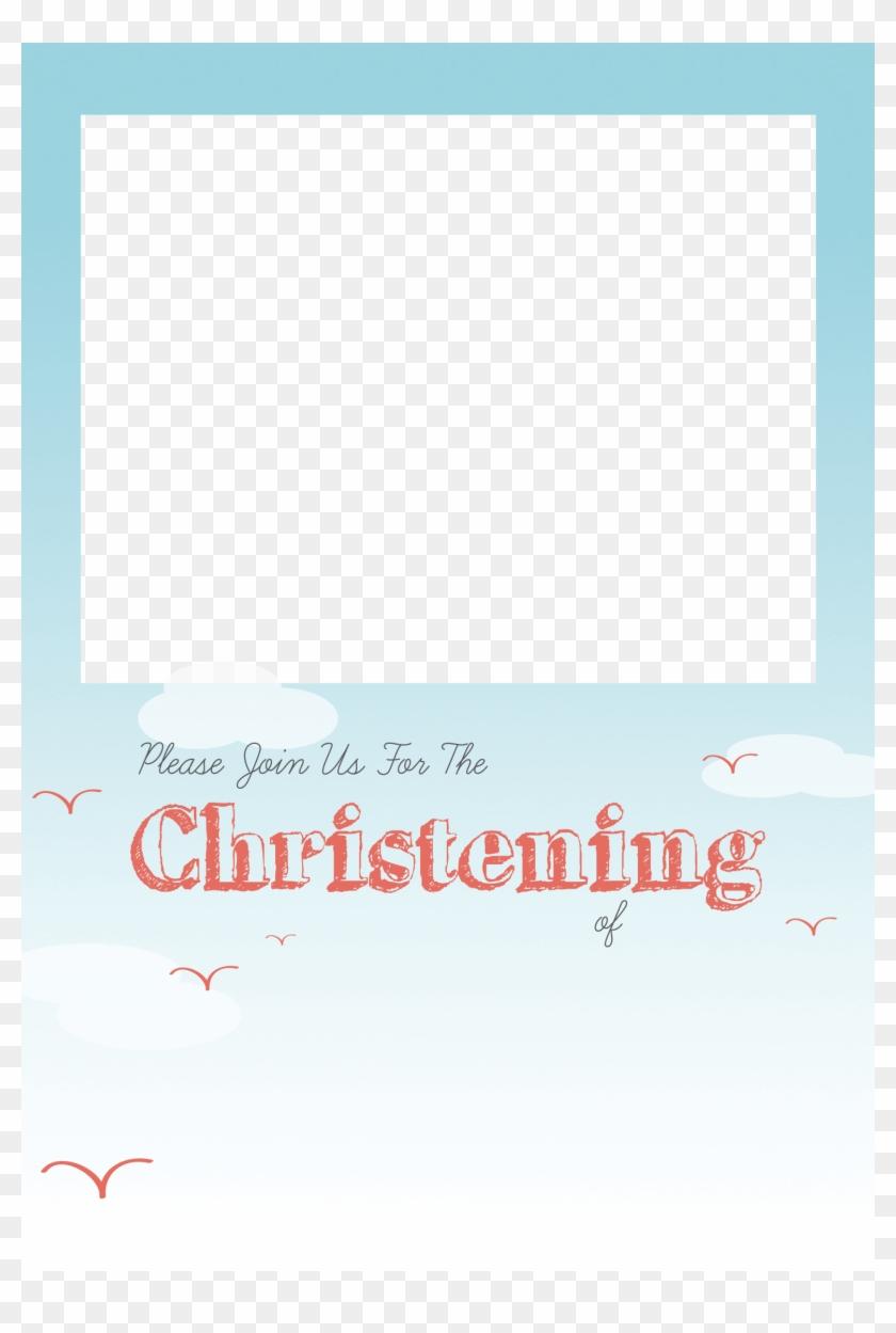 baptism invitation template png