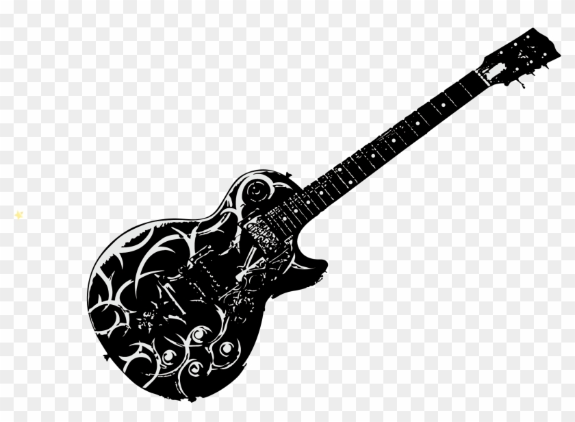 Electric Ukulele Painted Guitar Vector Acoustic Clipart
