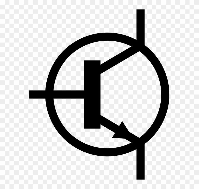 Transistor Symbol Electronic Schematic Circuit