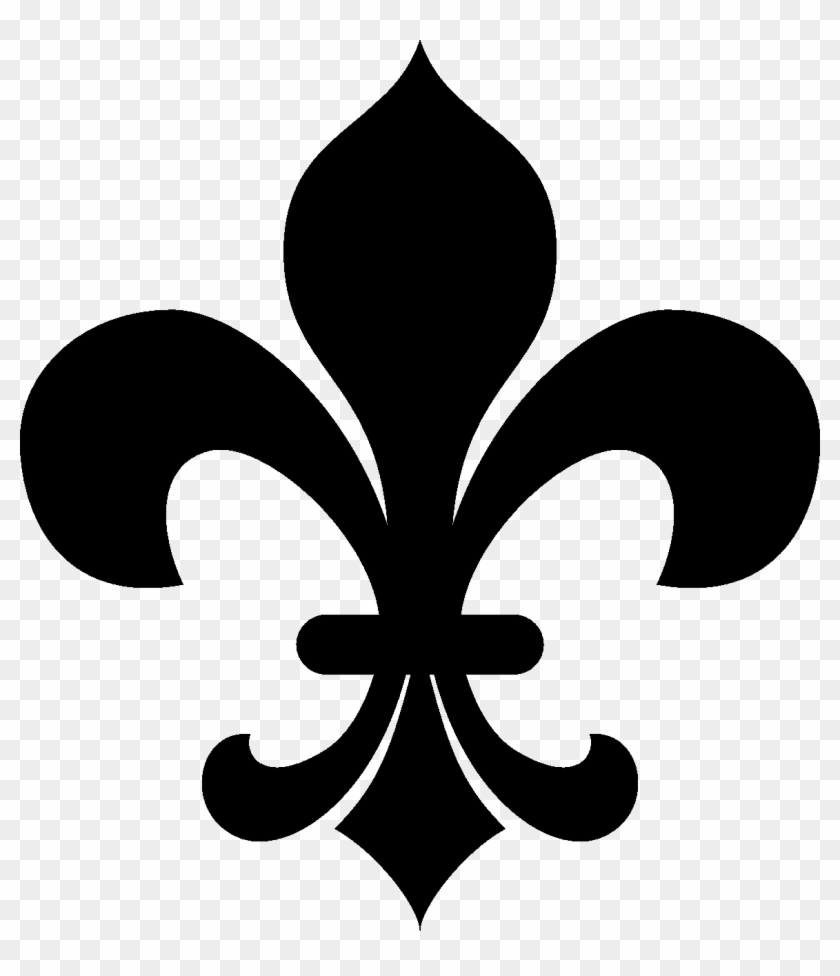 medium resolution of no clipart fleur de lis clipart black and white hd png download