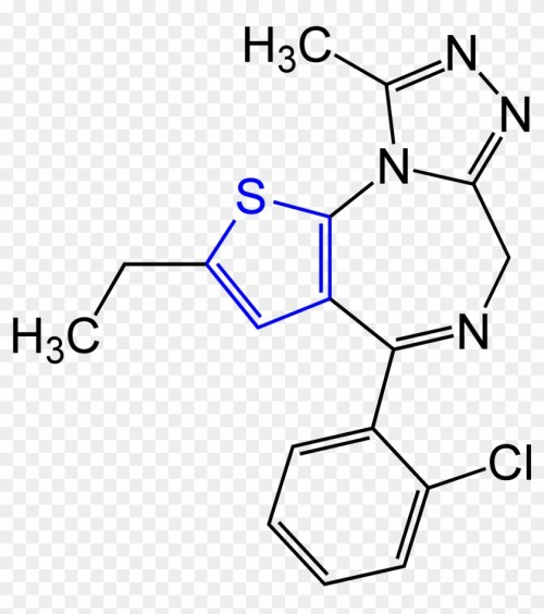 small resolution of etizolam structural formula v general chemistry png transparent png