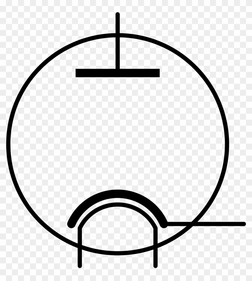 Component Diode Symbol Clipart Iec Photodiode And File