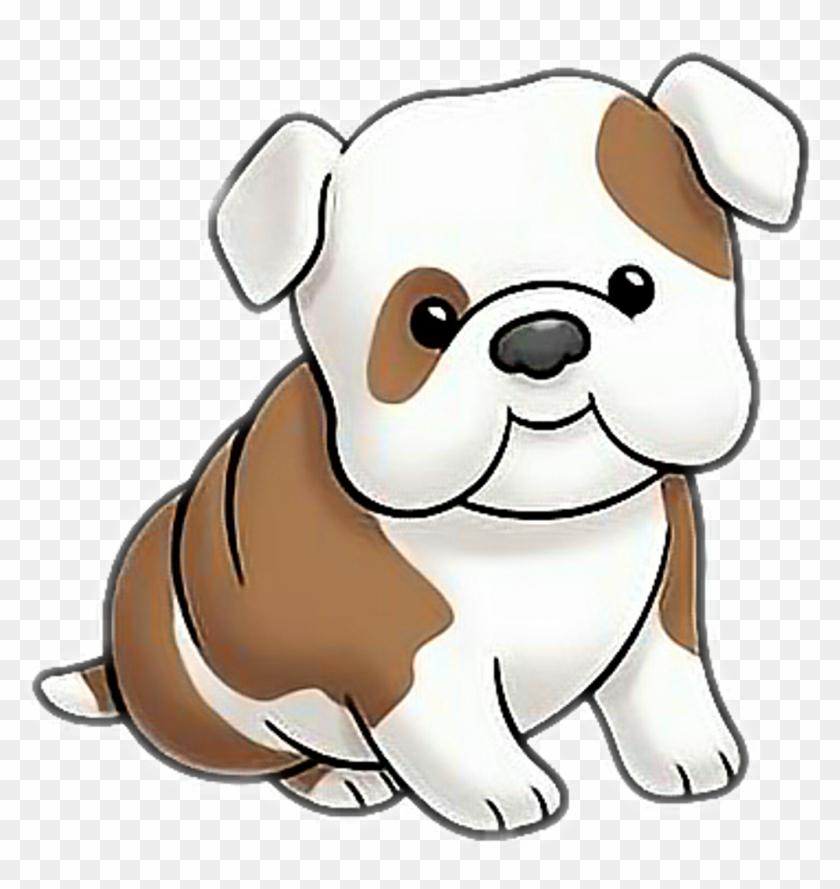 dog bulldog puppy cartoon
