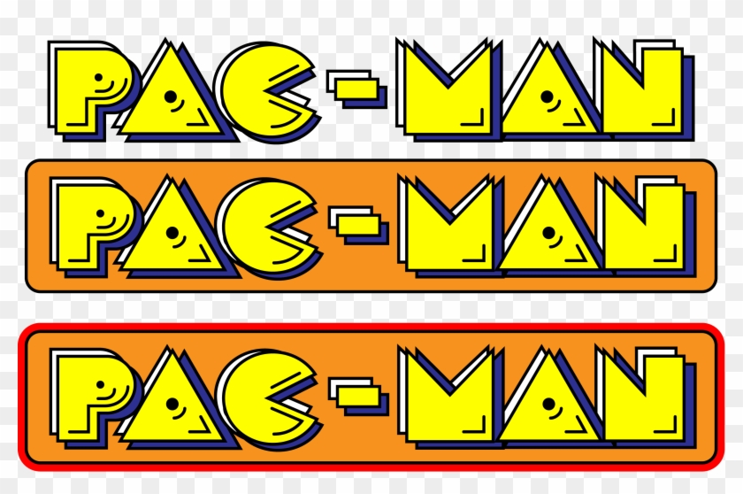 Pac Man Logos 01 By Dhlarson D5qqh82 2 929 1 808 Pixels Pacman Hd Png Download 2929x1808 374698 Pngfind