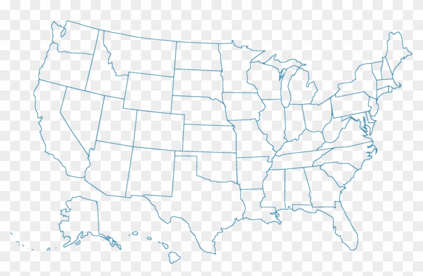 It is sometimes referred to as a volume label. Map Outline Usa States Not Labeled Hd Png Download 1600x1018 384547 Pngfind