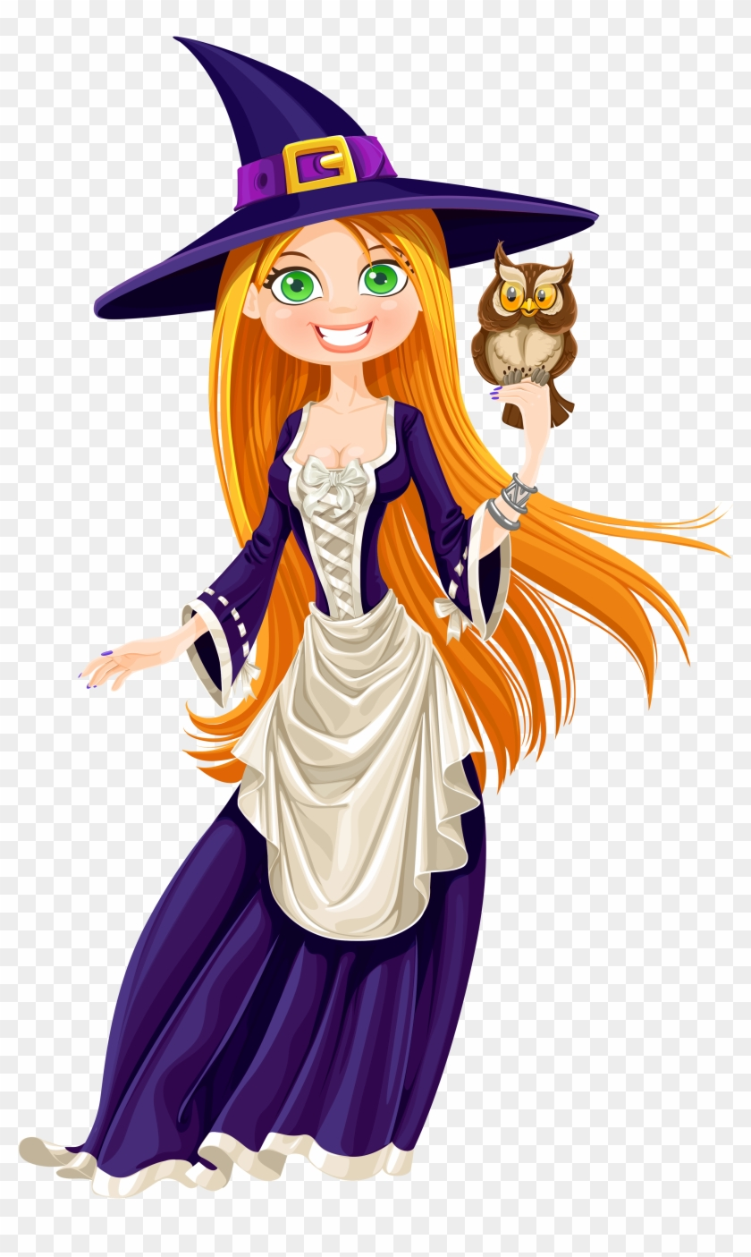 hight resolution of owl witch clipart la fille et la sorci re hd png download