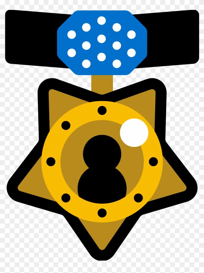 hight resolution of olympics clipart medal design medalla con una estrella animada hd png download