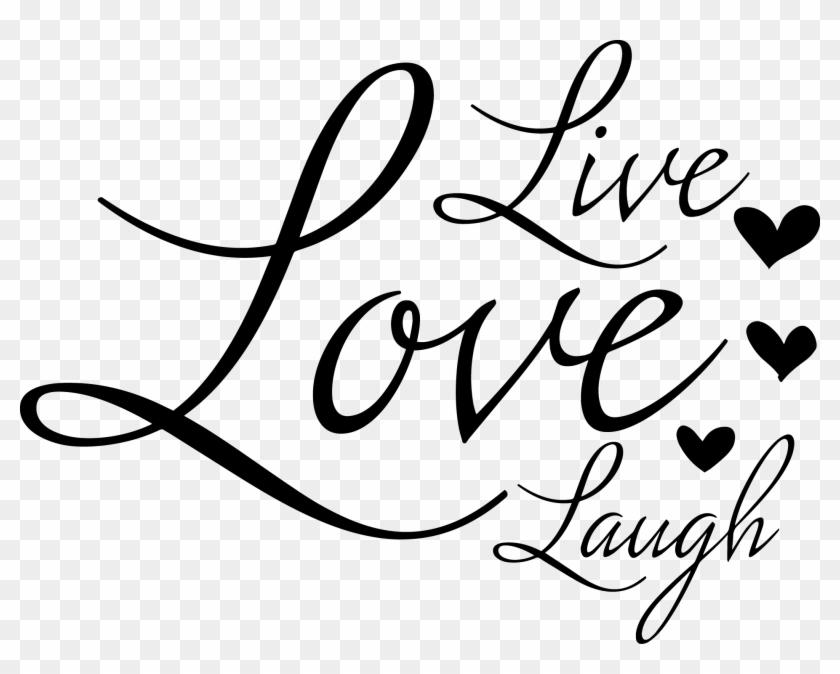 Live Laugh Love Svg Free - Layered SVG Cut File - Free ...