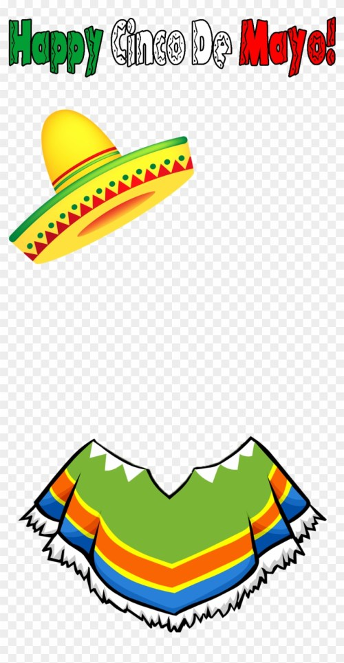 small resolution of check out our cinco de mayo filter we had go live at sombrero clipart no