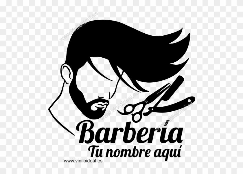 barbershop vector barber man