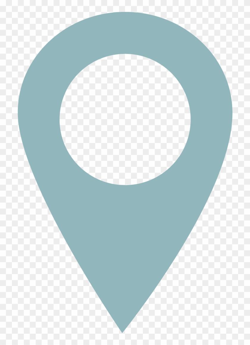 blue google map marker