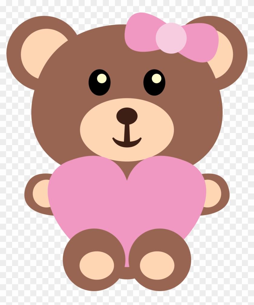 girl teddy bear clip