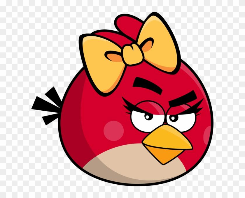 angry birds girl angry