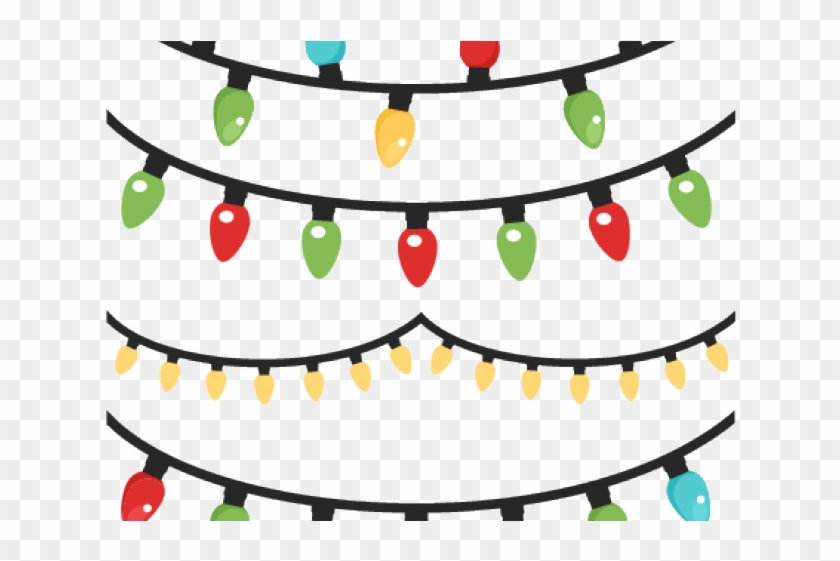 Christmas Lights Clipart Christmas Magic Hanging Christmas Lights Clipart Hd Png Download 640x480 5290561 Pngfind