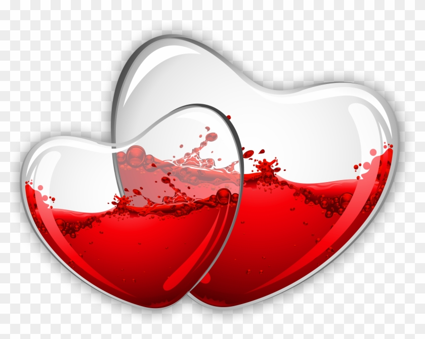 Beautiful Love Glass Heart Hd Png Download 3532x2729 542948 Pngfind