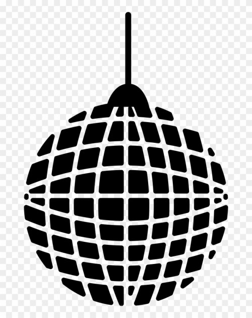 small resolution of grid disco ball comments golf ball and clubs clipart hd png download