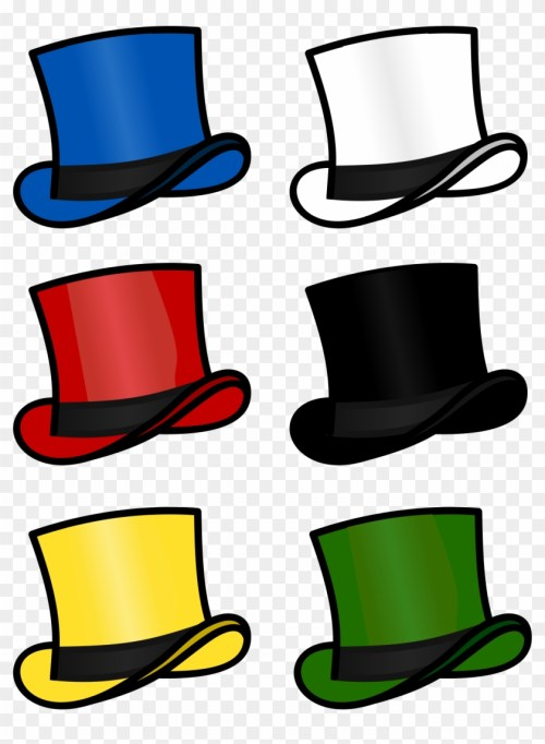 small resolution of top hat clipart sombrero six thinking hats clipart hd png download