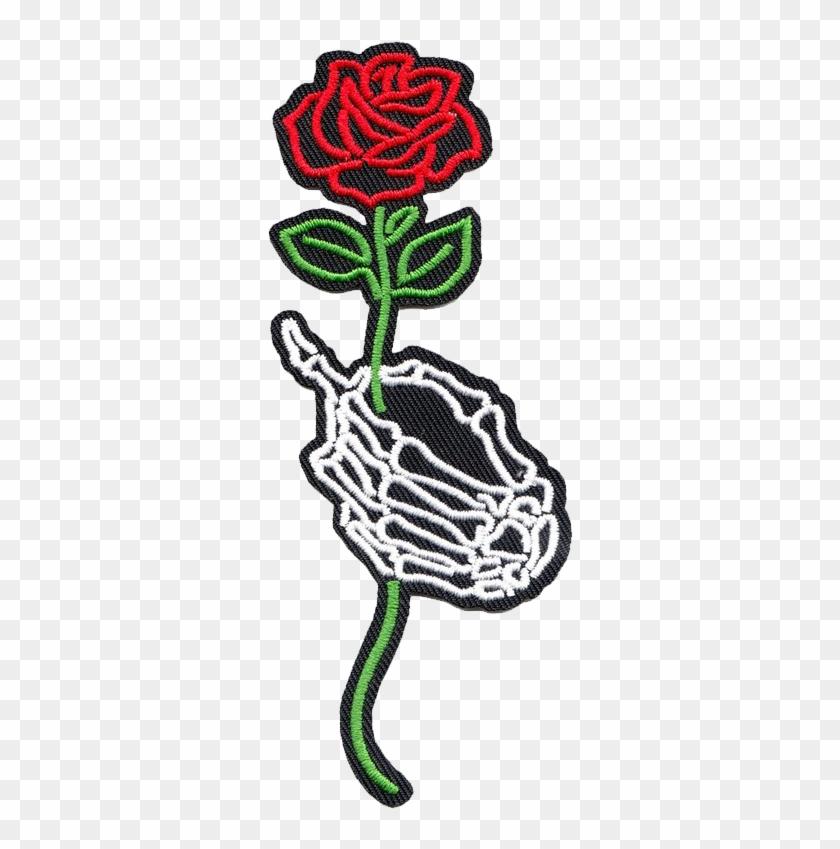 red rose stick sticker