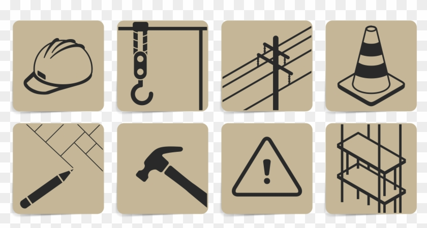iconset icons building vector
