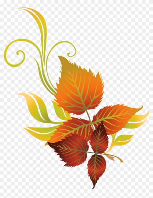 small resolution of falling clipart leaves transparent autumn leaf clip art hd png download