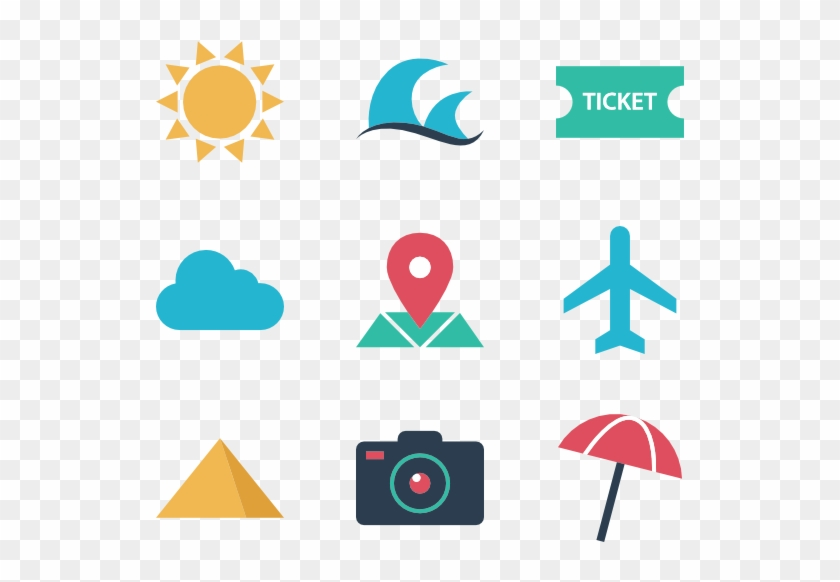 Travel And Vacation Flaticon Com Vacation Icons Hd Png Download 600x564 913978 Pngfind