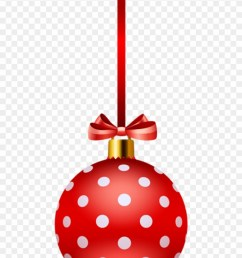 free png red christmas ball png polka dot christmas free clipart transparent png [ 840 x 1212 Pixel ]