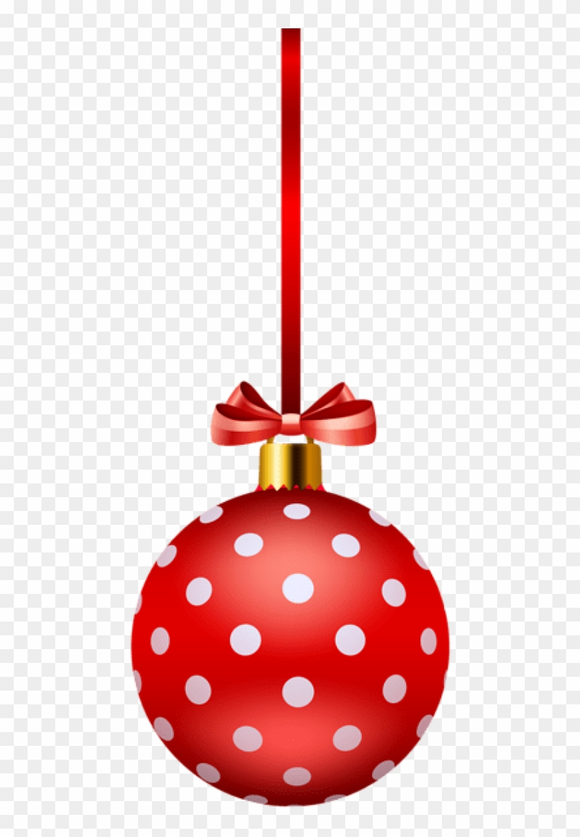 medium resolution of free png red christmas ball png polka dot christmas free clipart transparent png