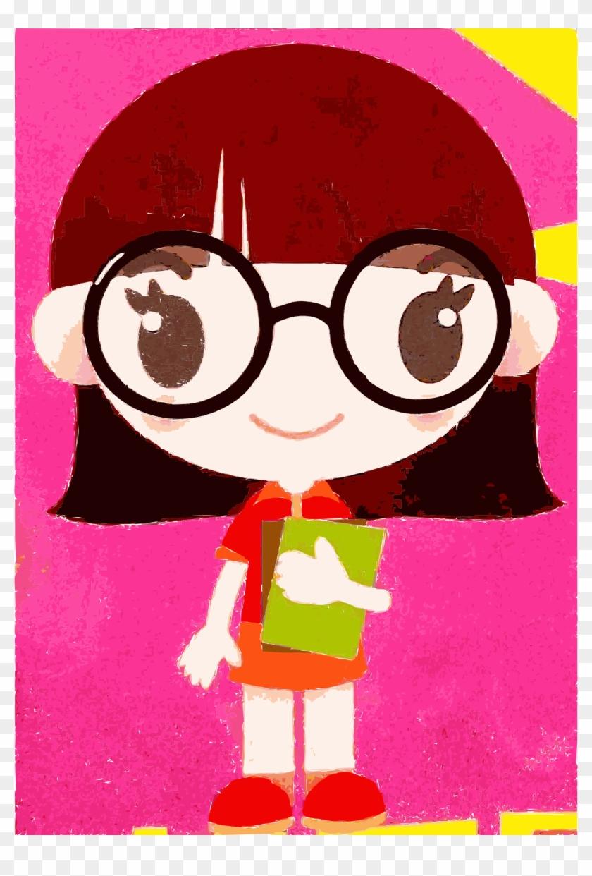 medium resolution of clipart nerd clip art girl hd png download