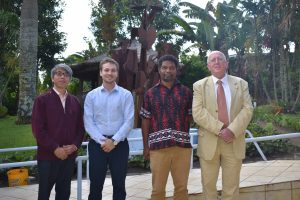 French Ambassador visits PNGIMR