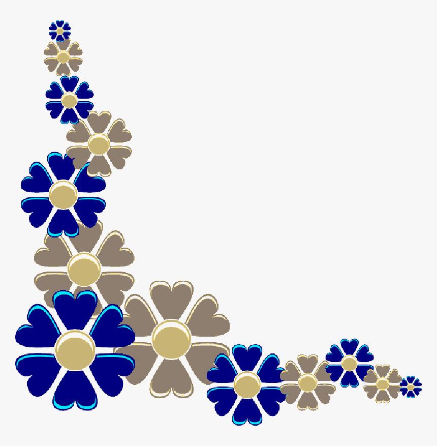 Border Line Design Flower Png Download Flower Design For Project Front Page Transparent Png Transparent Png Image Pngitem