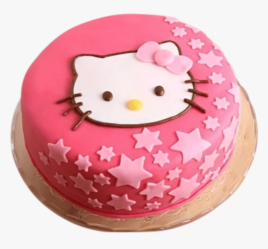 Transparent Hello Kitty Birthday Png Hello Kitty Cake Png Png Download Transparent Png Image Pngitem